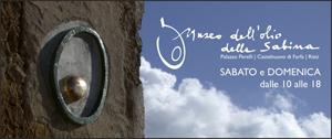 Banner Museo dell'Olio della Sabina