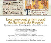 Locandina: Il restauro degli antichi corali del Santuario del Presepe