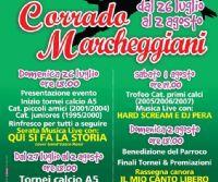 "Locandina: 2° MEMORIAL ""CORRADO MARCHEGGIANI"""