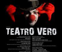 """Locandina: VI edizione della Rassegna """"Teatro Vero"""" in Bassa Sabina"""