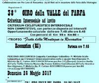 Locandina: 38^ Giro Valle del Farfa