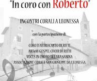 Locandina: In Coro con Roberto