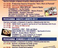 Locandina: XVII Sagra dei Maccaruni a Ponticelli Sabino