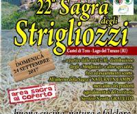 Locandina: Lo splendido borgo di Castel di Tora festeggia con i suoi strigliozzi
