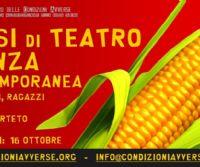 Locandina: Corsi di Teatro e Danza Contemporanea