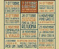 Locandina: 10 Spettacoli per un teatro