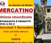 Locandina: MERCATINO ARTIGIANATO