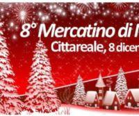 Locandina: 8° Mercatino di Natale di Cittareale