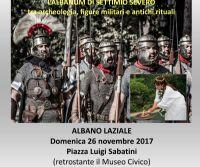Locandina: Viaggio nel Tempo: l'Albanum di Settimio Severo