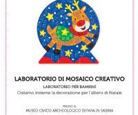 Locandina: Laboratorio di Mosaico Creativo