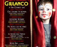 Locandina: Stagione Teatrale 2018 Teatro Giulanco