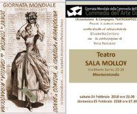 Locandina: il programma della Sala Molloy per questo febbraio!