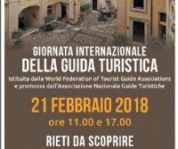 Locandina: La Giornata Internazionale della Guida Turistica 2018