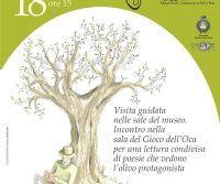 Locandina: L'olivo: l'albero dei poeti