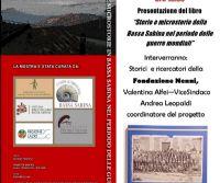 Locandina: Storie e Microstorie della Bassa Sabina nel periodo delle guerre