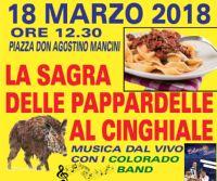 Locandina: Sagra delle pappardelle al cinghiale