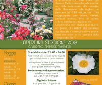 Locandina: Apertura stagione Roseto Vacunae Rosae