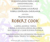 Locandina: Premio d'Arte Robert Cook 2018