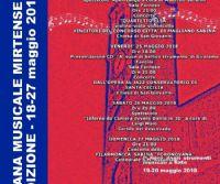 Locandina: XIII Settimana Musicale Mirtense