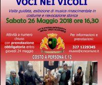 Locandina: Voci nei Vicoli