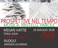 Locandina: Prospettive nel tempo - musica, pastelli e parole