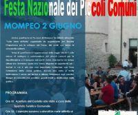 Locandina: Festa Nazionale dei Piccoli Comuni