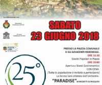 Locandina: Festa degli anziani