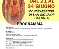 Locandina: Festa di San Giovanni