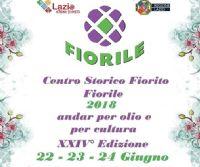 Locandina: Fiorile, edizione 2018