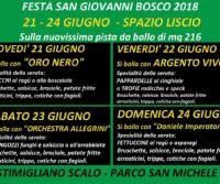 Locandina: Festa San Giovanni Bosco 2018
