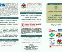 Locandina: Insieme per la Salute, Prima Giornata Informativa