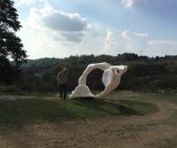 Locandina: Arte Contemporanea nel Parco, lungo la Francigena