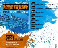 Locandina: Fara Music Festival 2018