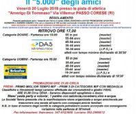 Locandina: Il 5000 degli Amici, seconda edizione