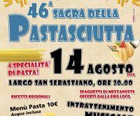 Locandina: 46^ Sagra della Pastasciutta