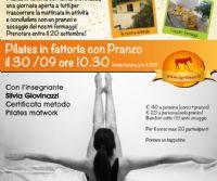 Locandina: Pilates in fattoria con Pranzo