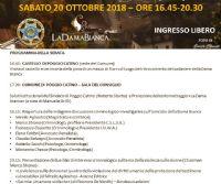 Locandina: Omicidio della Dama Bianca