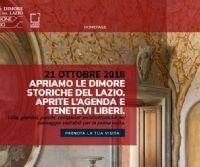 Locandina: Giornata delle dimore storiche