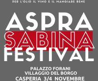 Locandina: Aspra Sabina Festival