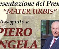 Locandina: Premio Mater Urbis a Piero Angela