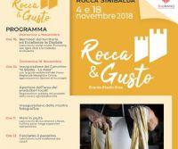 Locandina: Rocca&Gusto