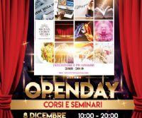 Locandina: Openday Corsi e Seminari