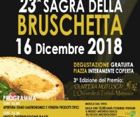 Locandina: Sagra della bruschetta