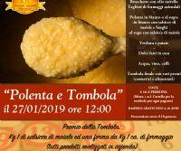 Locandina: Polenta e Tombola in fattoria