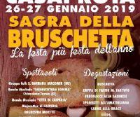 Locandina: Sagra della bruschetta di Casaprota