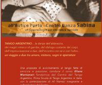 Locandina: Corso di Tango Argentino in Sabina
