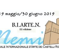 Locandina: 3ª Biennale internazionale d'arte dei Castelli Romani