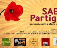Locandina: Sabina Partigiana