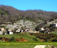 Locandina: Pasquetta sulla Via di Francesco tra Cottanello e la Valle Santa