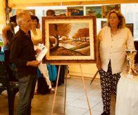 Locandina: L'artista in viaggio per l'italia